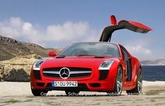 Mercedes SLS : Le bébé annonce son nom