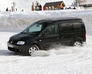 Essai Volkswagen Caddy Life 4MOTION 1.9 TDI : Ludospace des neiges