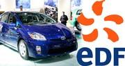 EDF et Toyota s'associent autour de l'hybride rechargeable