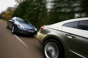 Essai Renault Laguna Coupé 2.0 dCi 150 contre Volkswagen Passat CC 2.0 TDI 140 DSG : Jeux de lignes