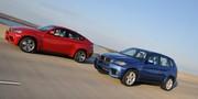 BMW X5 et X6 M : Même bloc V8 4.4 de 555 chevaux