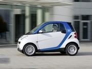 Smart exporte son concept car2go aux Etats-Unis