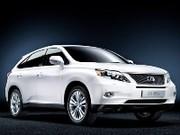 Lexus RX 450h : seulement 148g de CO²/km