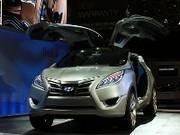 Hyundai habille son concept Nuvis d'un nouveau système hybride