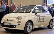 Une Fiat 500 électrique construite en Suède