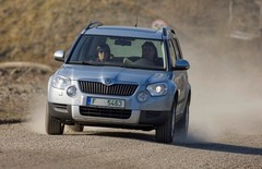 Skoda Yeti en production