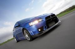Mitsubishi Lancer Evolution FQ-400 : Un gros turbo !