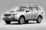 Subaru Forester retouchée