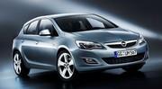 Opel Astra de l'intérieur