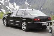 VW Phaeton : Menus aménagements