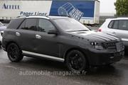 Mercedes ML 3 : Destination route
