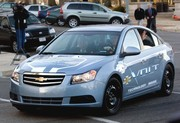 Chevrolet Volt : un exemplaire de pré-série sur la route !