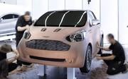 Aston Martin Cygnet : Un concept de minicitadine