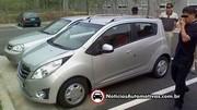 Premieres photos de la Chevrolet Spark/Matiz 2