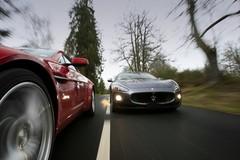 Essai Aston Martin V8 Vantage 4.7 Sportshift contre Maserati GranTurismo S : L'art et la manière