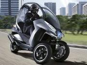 HYmotion 3 : le futur scooter hybride de Peugeot