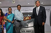 La premiere Tata Nano est livrée