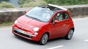 Essai Fiat 500C 1.4 100 ch : L'ouverture du pot de yaourt