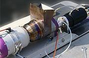 La Prius dénaturée avec une turbine