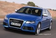 Audi RS4 : La RS4 entre dans la mêlée