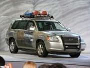 Toyota Highlander à hydrogène : 690 km d'autonomie