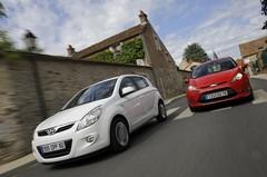 Essai Hyundai i20 1.2 Pack Color Confort contre Ford Fiesta 1250 Trend : Pétillantes