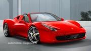 Ferrari 458 Italia Spider : Besoin de respirer