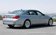 BMW ActiveHybrid 7 : Pour ceux qui n'aiment pas le diesel, ou les esthètes