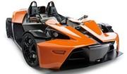 KTM : la production du X-Bow suspendu