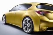 Lexus LF-ch : Descente en gamme