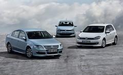Volkswagen Polo, Golf et Passat Bluemotion : Vague bleue