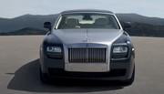 La Rolls-Royce Ghost a levé son voile