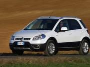 Fiat Sedici : coup de mascara
