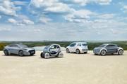 Renault Fluence, Kangoo, Twizy et Zoe Z.E.