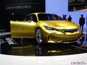 Lexus LF-Ch : sportivité, caméras et iPod