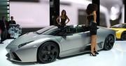 Lamborghini Reventon Roadster : zone de turbulences