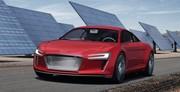 Audi e-Tron : un coupé sportif entièrement électrique