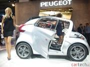 Les voitures vertes de Peugeot en vidéo