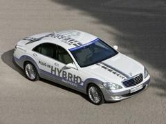 Mercedes Vision S 500 Plug-in HYBRID : luxe raisonnable