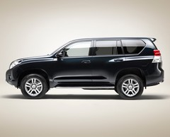 Toyota Land Cruiser : Pur et dur