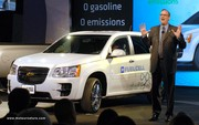 GM montre l'hydrogène nouvelle génération