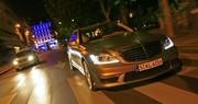 Essai  Mercedes S 63 AMG Limousine contre Fiat 500 Abarth : C'était un rendez-vous