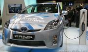 Toyota Prius 3 rechargeable : prototype de recherche avec batterie lithium-ion