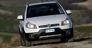 Essai Fiat Sedici : discret 4x4