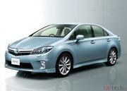 Premières photos de la SAI, la nouvelle hybride de Toyota