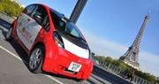 La Mitsubishi i-MiEV de balade en France