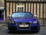 Essai Audi TT RS : L'anticrise