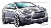 Mitsubishi : premier dessin du crossover compact