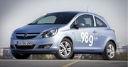 Opel Corsa ecoFLEX : 98 g/km de CO2 seulement