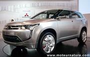 Mitsubishi PX-MiEV, un concept d'hybride série/parallèle rechargeable